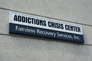 Facility Signage 300x199 - Addictions Crisis Center