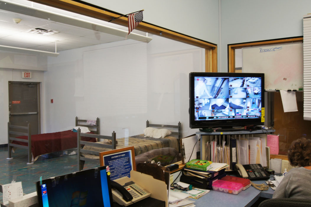 Observation Room view of Primary Care Unit